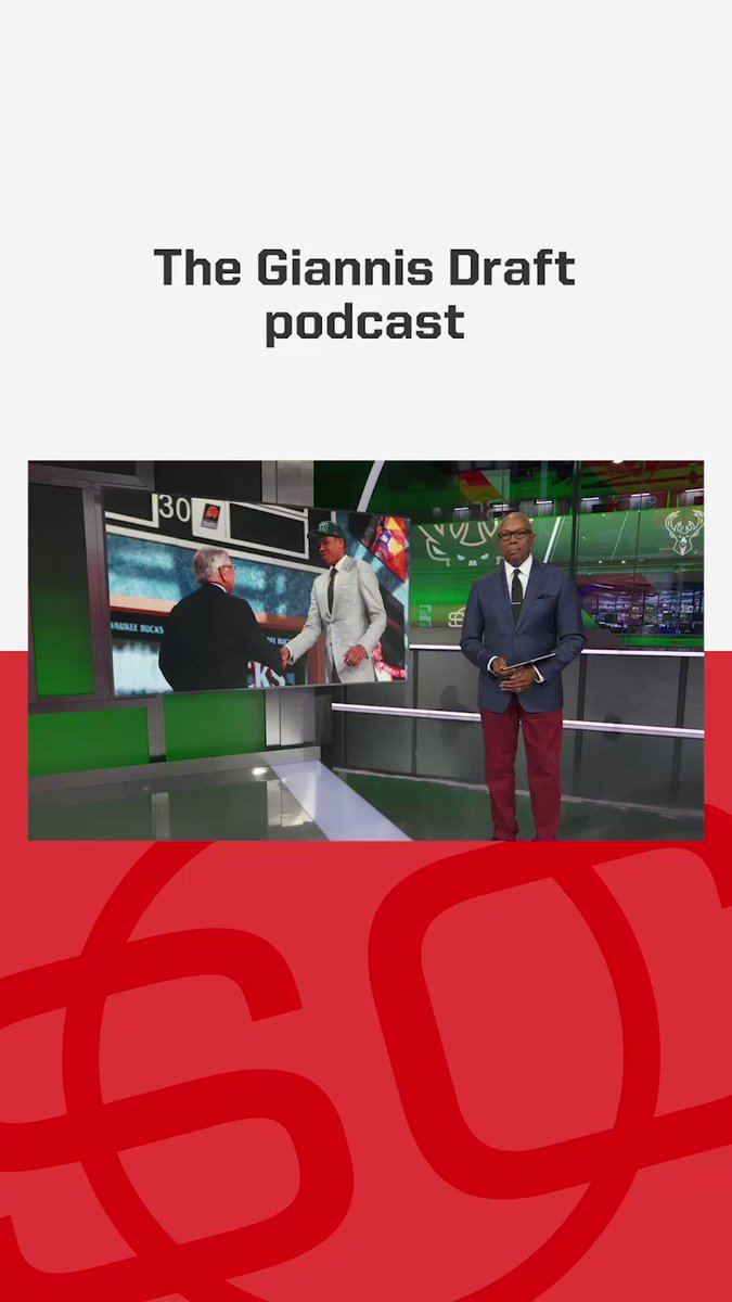 The Giannis Draft: The Woj Pod's 3-episode narrative podcast on the greatest NBA draft story ever told.🎧 Ep. 1: https://t.co/K8flkaD0DL Ep. 2: https://t.co/FJMErUhfvO Ep. 3: https://t.co/QGNAxAIMOk https://t.co/tdTzGC2YvH