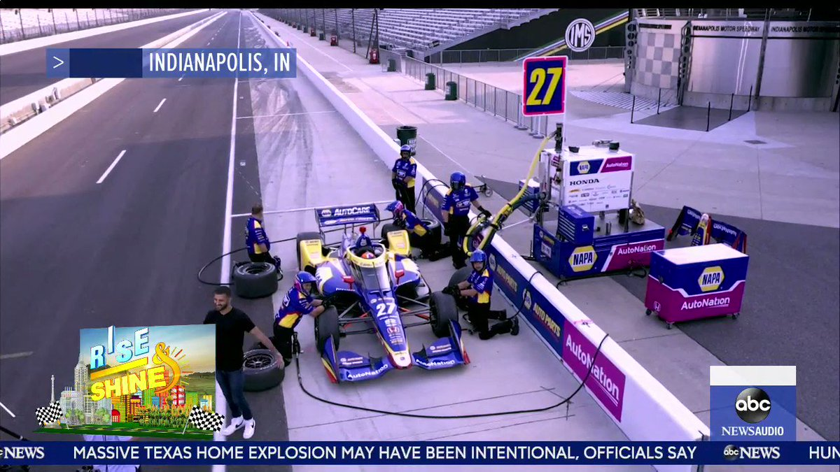 Full speed ahead in Indiana! @ashan takes us inside the Indianapolis Motor Speedway. https://t.co/PJO3EGiOLr