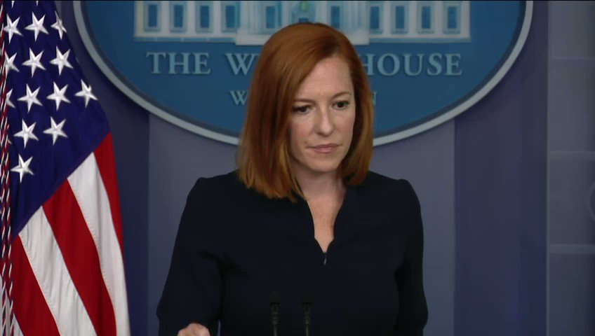 """.@PressSec Jen Psaki: """"[Hunter Biden] will not know, we will not know who purchases his art."""" https://t.co/eJgMtVgj2W"""