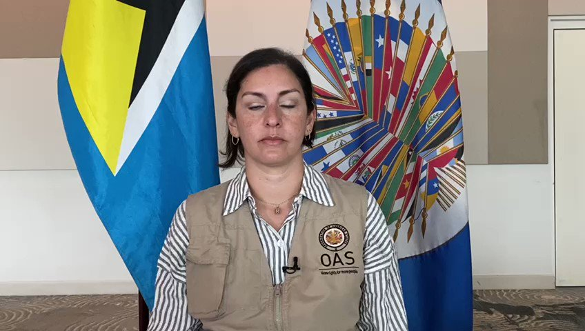 Message from the Chief of the Electoral Observation Mission #OASinStLucia @PlataMcp regarding the July 26 general elections 🇱🇨🗳 https://t.co/BeVIw0ZfJh