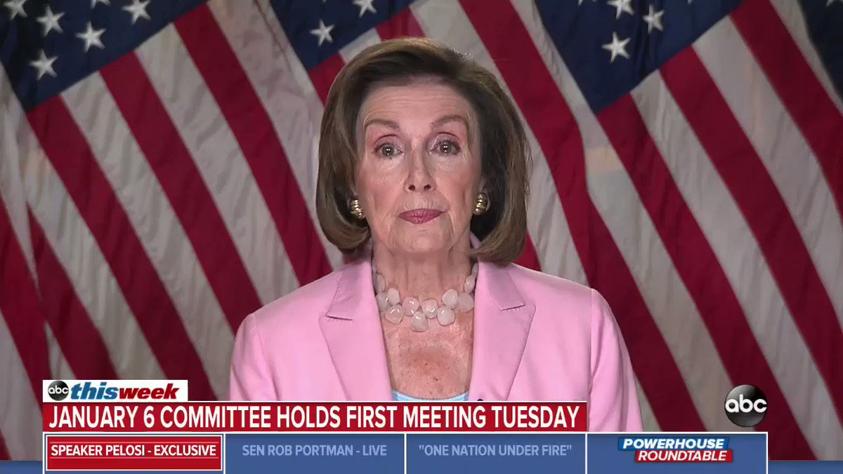 """Speaker Nancy Pelosi tells @GStephanopoulos that she plans to name more Republicans to the Jan. 6 select committee after vetoing two of House Minority Leader Kevin McCarthy's recommendations: """"You could say that's the direction I would be going."""" https://t.co/3NlObOqjFv https://t.co/4hJwViTMxK"""