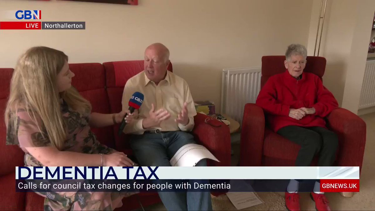 """""""We were driving home from the airport, we'd been away for a fortnight and she asks me 'are we going on holiday?'""""  Anna Riley meets Derek Brown, who's calling on councils to change the way they discount council tax for people with dementia. https://t.co/xJSJN7Wixf"""