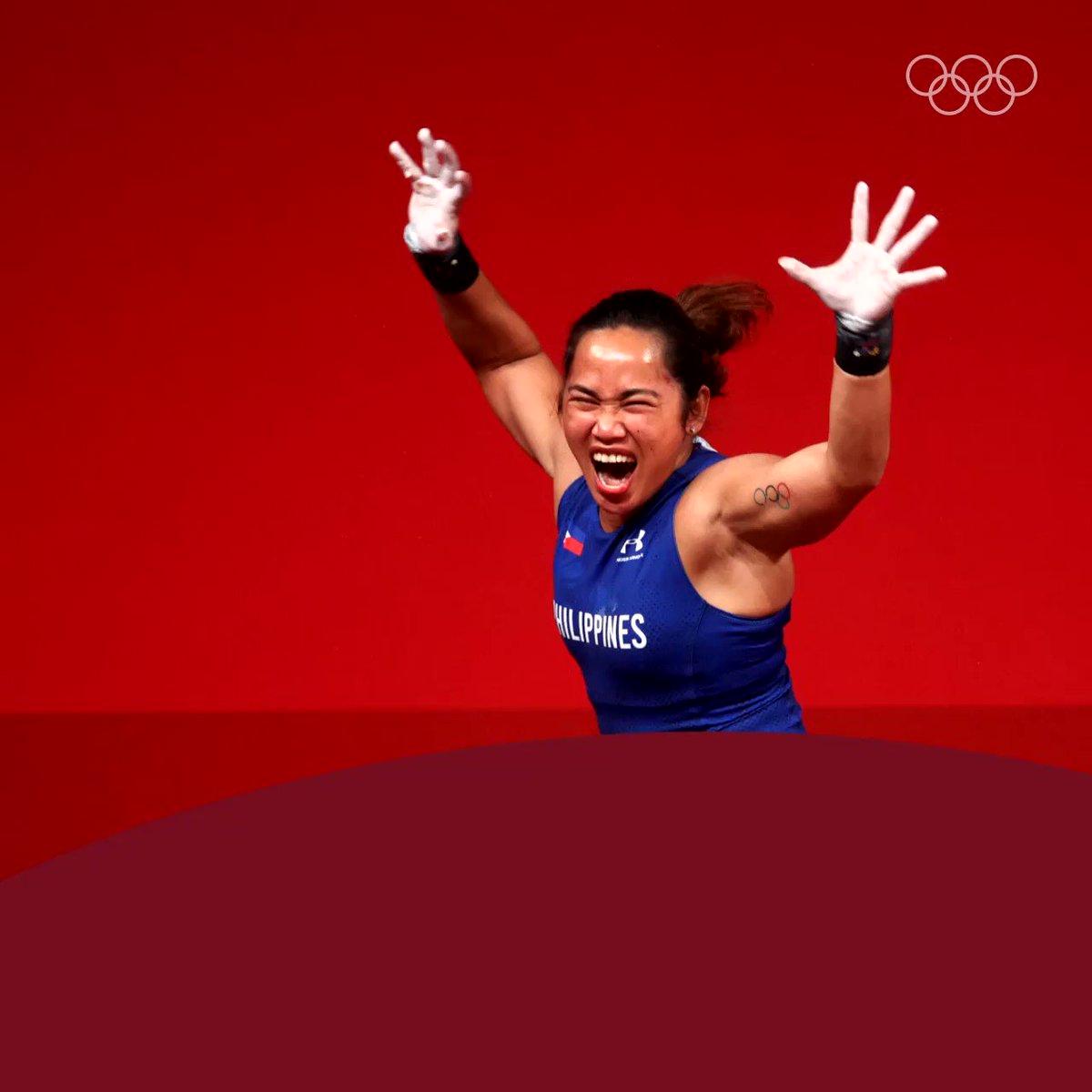 @Olympics's photo on Hidilyn Diaz
