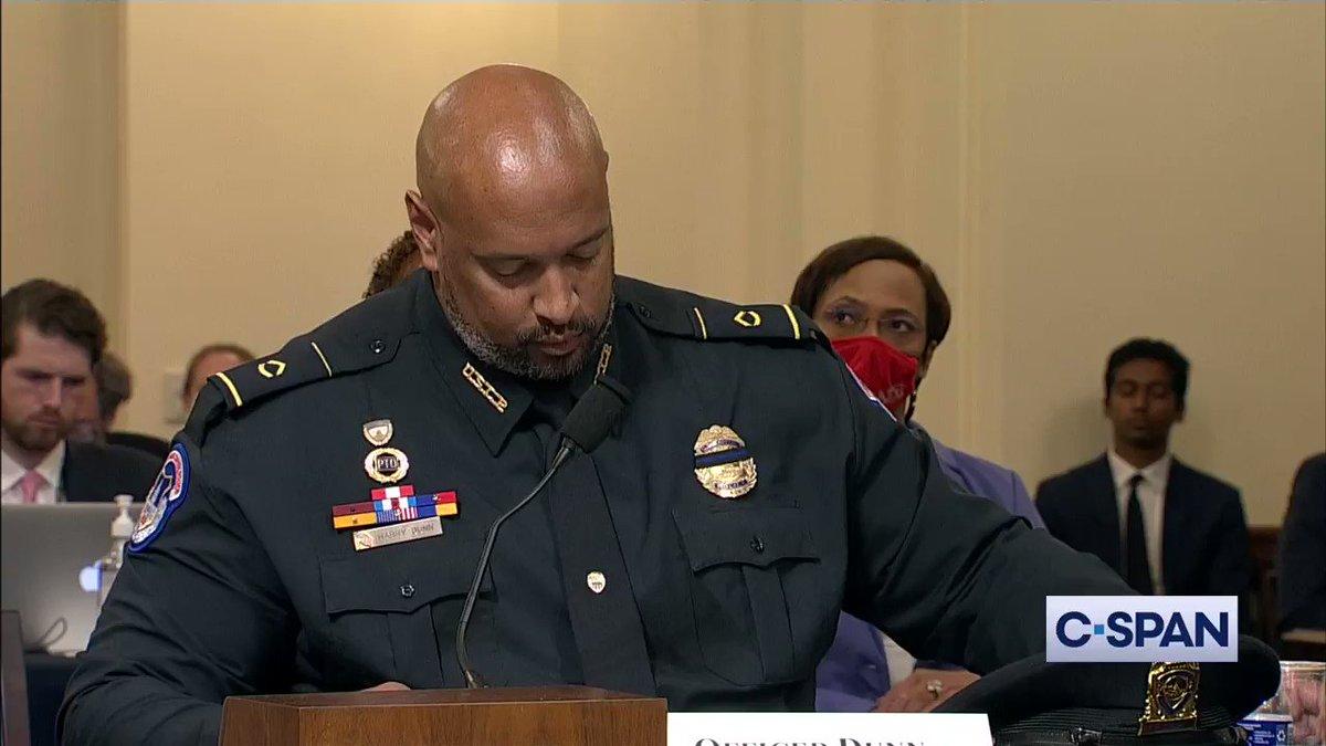 @cspan's photo on Officer Dunn