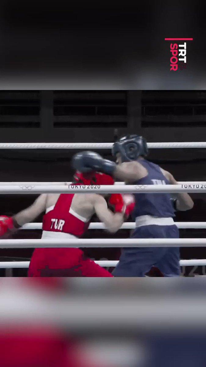 #Tokyo2020'de tarih yazan milli boksörümüz Buse Naz Çakıroğlu ve yumrukları! 🤩