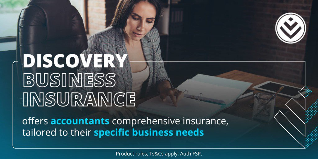 Our insurance product for accountants offers cover for traditional business risks and newly emerging risks. It includes innovations and benefits that are tailored to an accounting practice's unique business needs. Find out more https://t.co/0OfouVRoyL #DiscoveryBusinessInsurance https://t.co/GtsnDRPPSC