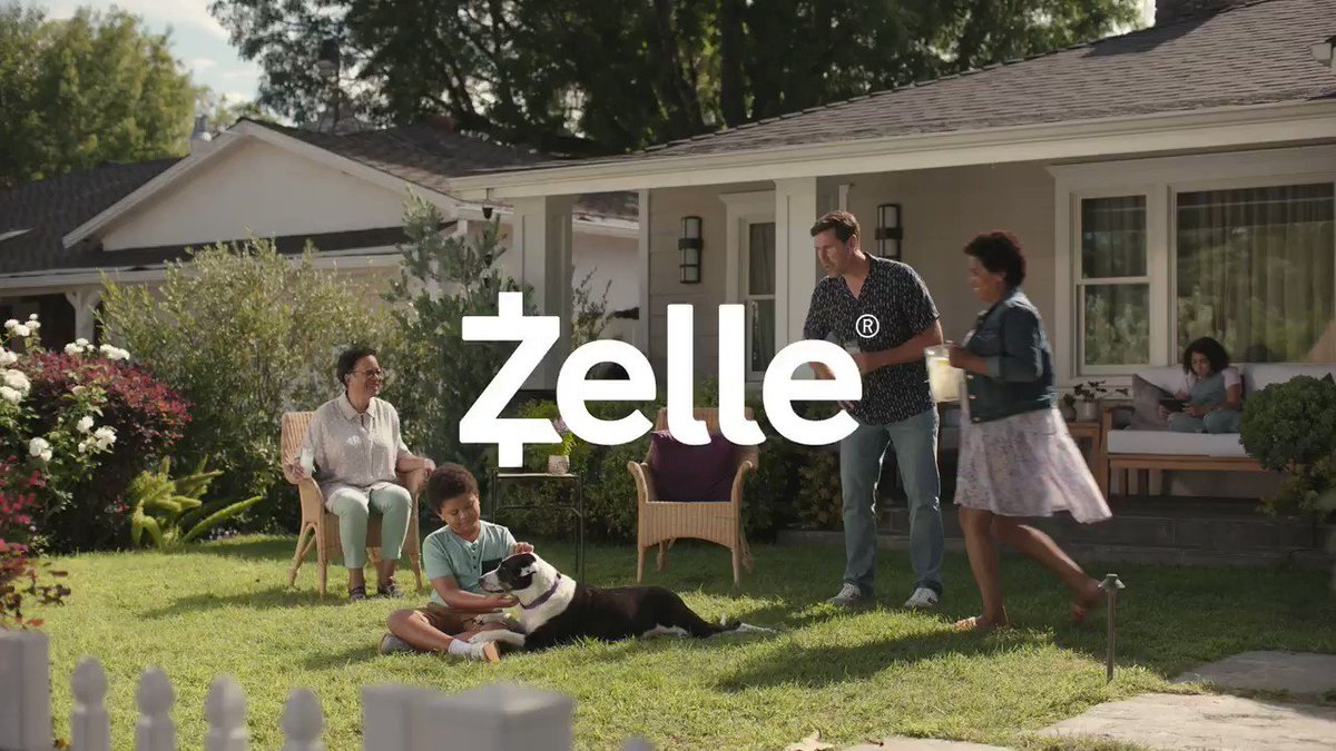 Why would a family name their dog after Zelle? Because Zelle is a great way to send money to friends, no matter where they bank in the U.S., obviously. #SendWithZelle