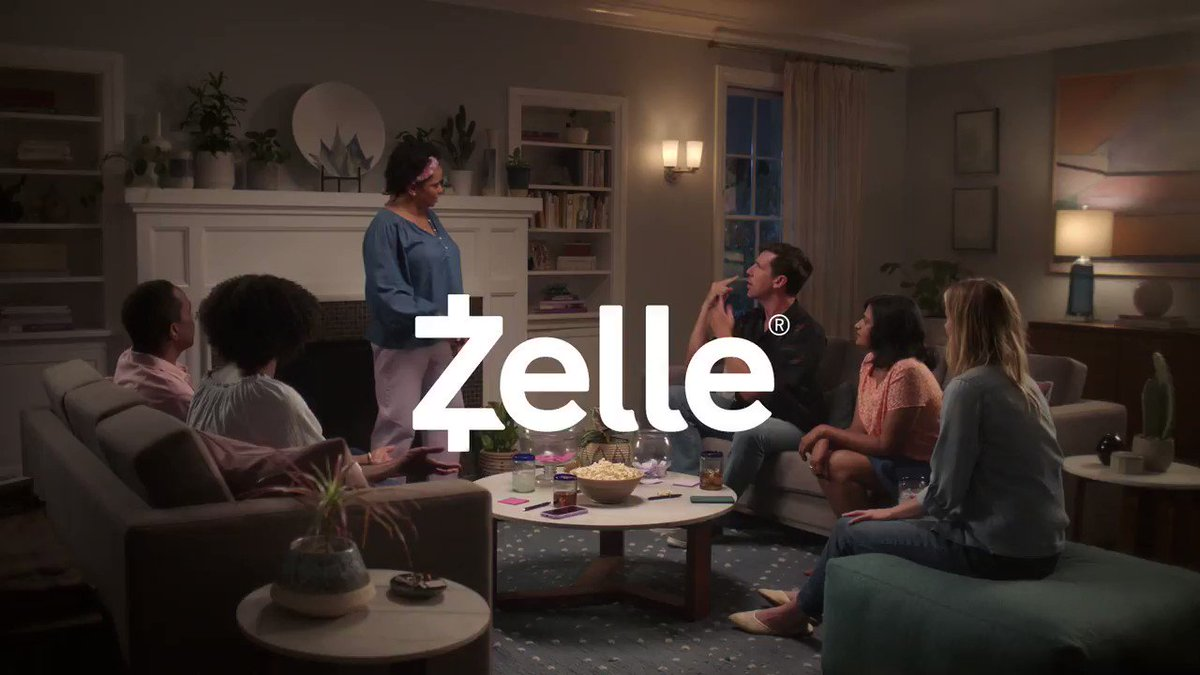 Join the family for a game night! We've got popcorn, charades, and a lot of information about how Zelle is a great way to send money to friends, no matter where they bank in the U.S. #SendWithZelle