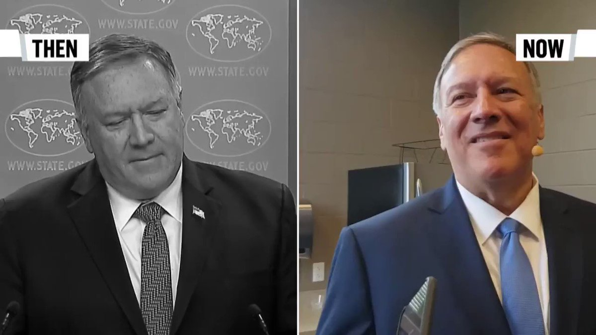 Image for the Tweet beginning: If @mikepompeo is talking he