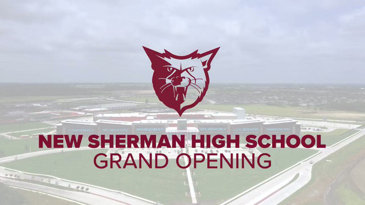 Congrats to @ShermanISD, @sherman_high, and @VLKArchitects on this Grand Opening. @WJHWInc is proud to be a part of this truly remarkable achievement! #BuildingBearcats #WeAreWJHW #AudioVisual #TheatreConsulting #Acoustics #Broadcasting #Sound