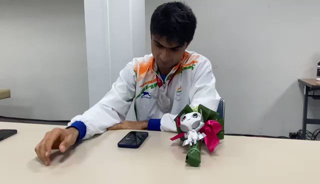 @ParalympicIndia's photo on #Silver