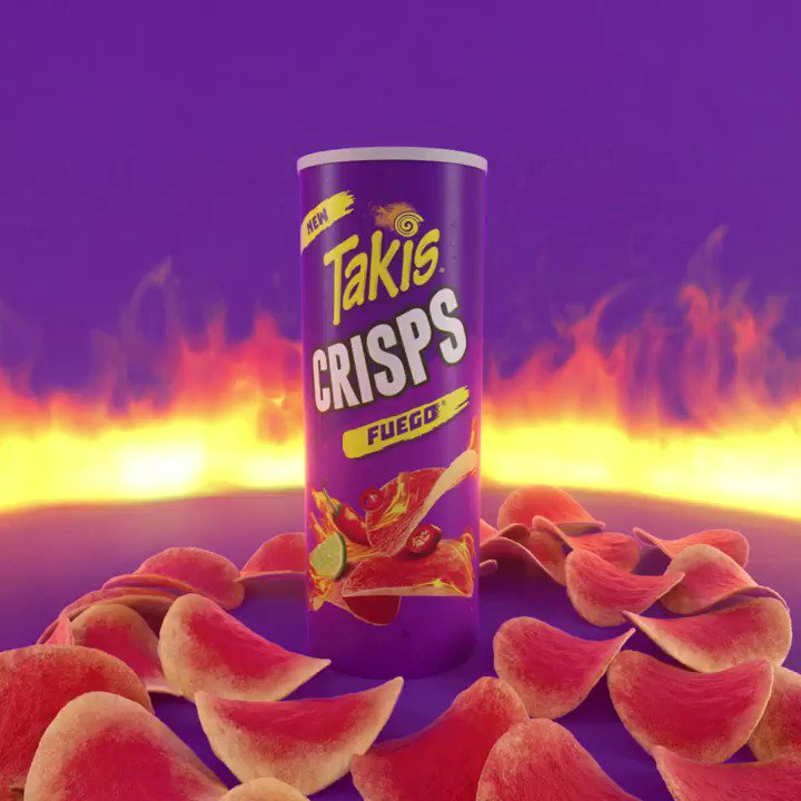 The newest member of our snack family has arrived!! Takis Crisps, our most portable snack yet🔥 #new #snack #Takis