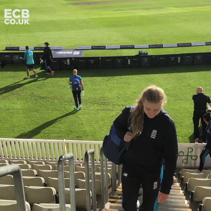 We've arrived in Worcester! 👋   #ENGvNZ https://t.co/mBX49YzEao