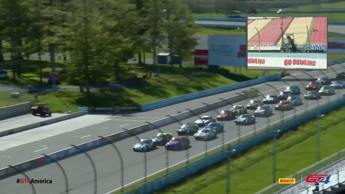 Image for the Tweet beginning: Race 2 is green!  ⏱  📺