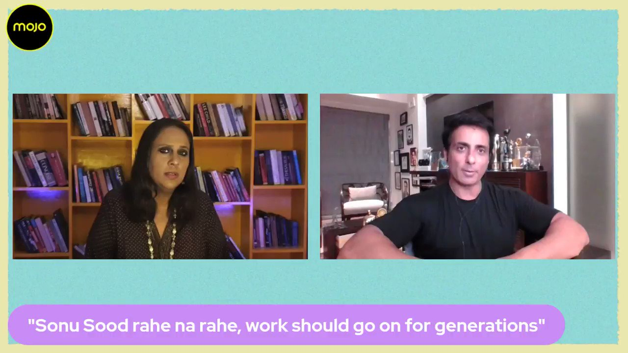 """@BDUTT: """"I miss the Tax Officials now""""- says @SonuSood good naturedly on @themojostory on being raided, """"surveyed"""" by the Income Tax and the 50000 unread emails they found on his computer ! Full conversation:"""