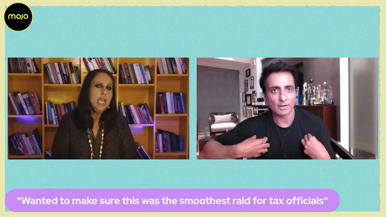 """@BDUTT: """"I have been offered a seat in Rajya Sabha twice""""- @SonuSood on @themojostory on Tax Raids & whether its do with becoming Delhi government's brand ambassador. """"Am not with any party. If the PM calls me for a good cause, Main Daur kar Jaoonga"""". Full show:"""