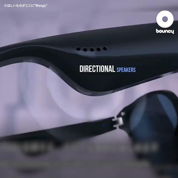 音楽を身に着ける。スマホと繋がるBluetoothオーディオサングラス「Xzues BG-01」 by ほしいものがここに