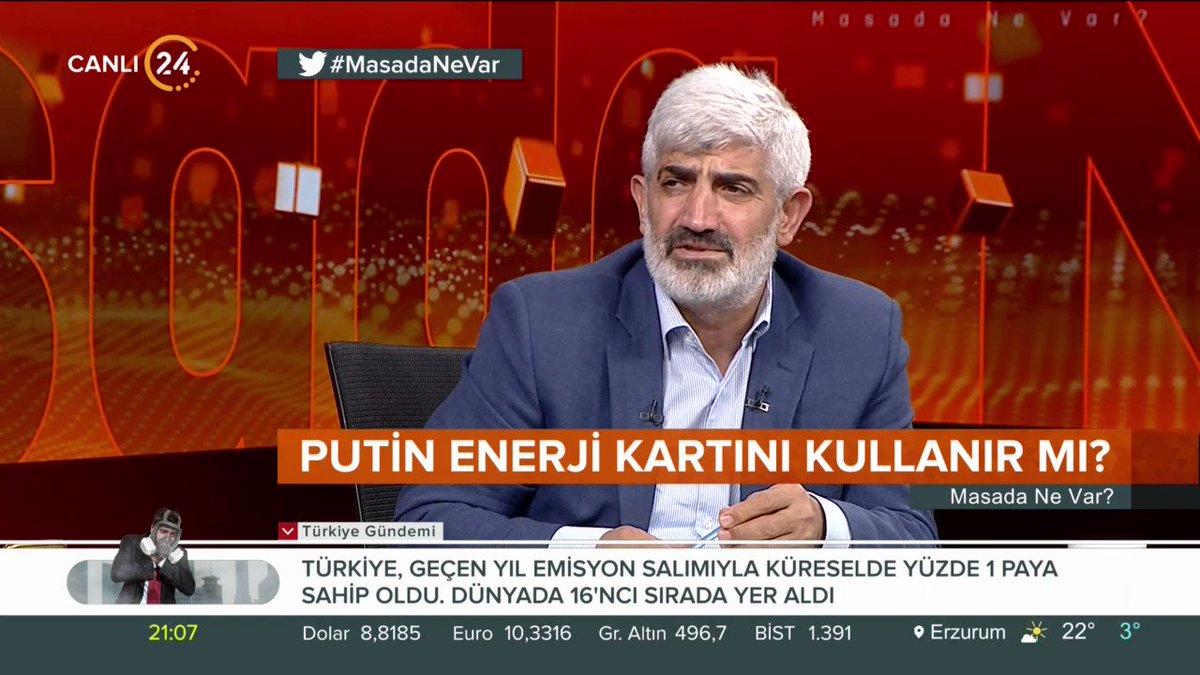 GENAR Araştırma Şirketi Başkanı İhsan Aktaş (@ihsanaktas): Bir ülke tam bağımsızlık yolunda adım atıyorsa bu sürecin yönetimi çok sancısız geçmeyecek.   #MasadaNeVar