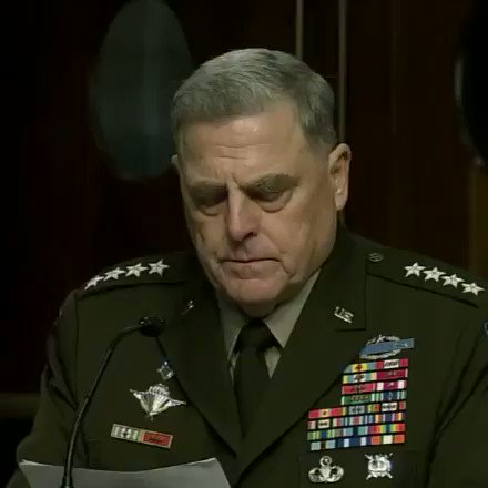 """Image for the Tweet beginning: GEN. MILLEY: """"I know, I"""