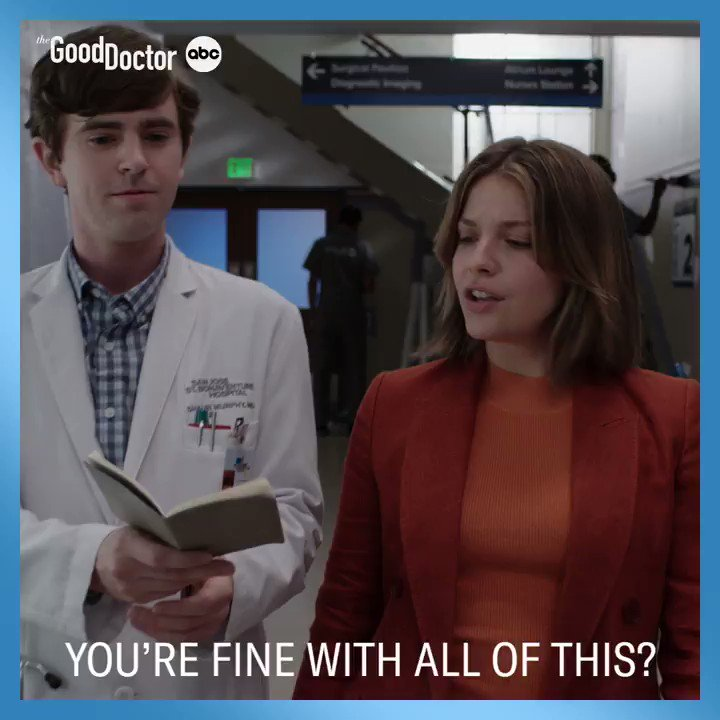 """""""There's no such thing as bad cake."""" 😂 For more FACTS, tune in to #TheGoodDoctor tonight! Stream on Hulu."""