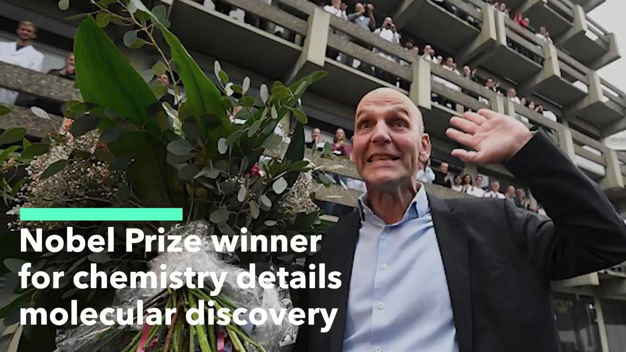 Nobel Prize Winner for Chemistry Details Molecular Discovery
