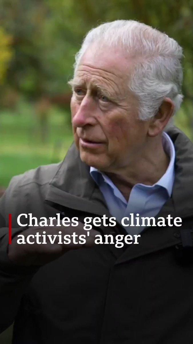 BBC: Söylediğiniz pek çok şey ana akım haline geldi (iklim) Prens Charles: Haddinden fazla zaman aldı. BBC:Dünya liderleri Glasgow'da bir araya geliyor bu meseleleri konuşmak için. Charles: Evet, ama onlar sadece konuşuyor.  Şu hayatta prens olmak vardı…