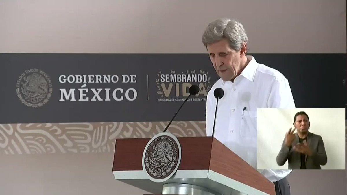 """WATCH: John Kerry touts creating auto jobs in MEXICO as a positive effect of Joe Biden's green energy policies.  """"Mexico's industrial base...absolutely stands to benefit from the energy transition."""""""