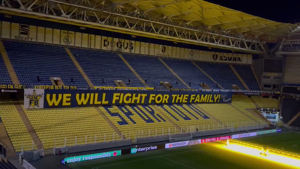 WE WILL FIGHT FOR THE FAMILY! 🔥@Fenerbahce