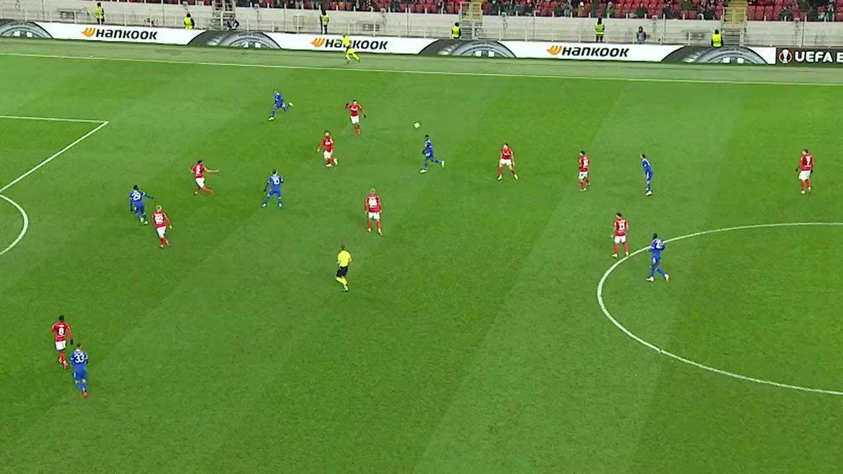 Unstoppable Avant le #BreLei, découvrez les quatre buts de Patson Daka contre le Spartak Moscou.