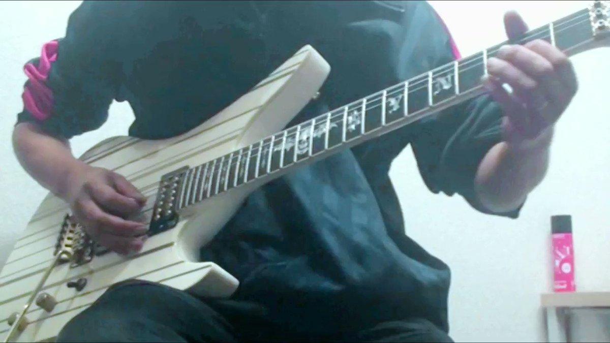 Avenged Sevenfold - Nightmare おぢさん、思いっきり忘れてたのでまたやってみましたwう~ん...#AvengedSevenfold #A7X #guitar #ギター #弾いてみた #メタル