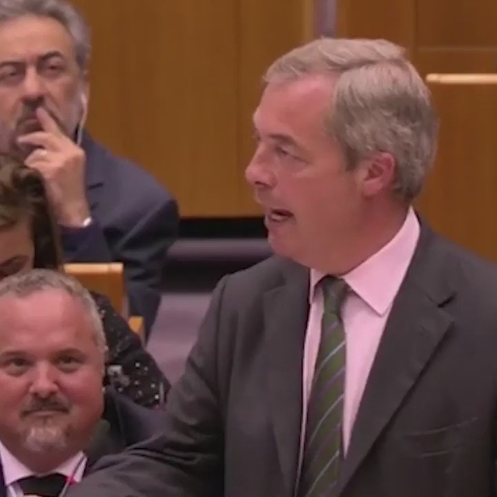 .@Nigel_Farage just destroyed the European Parliament in one brutal speech. https://t.co/rCWe5ssESw
