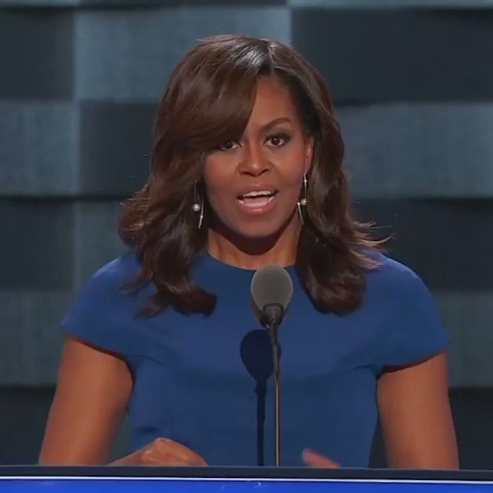 .@MichelleObama just gave the speech of her life! https://t.co/zc17rYtOL9 https://t.co/9kVOUOtjxi