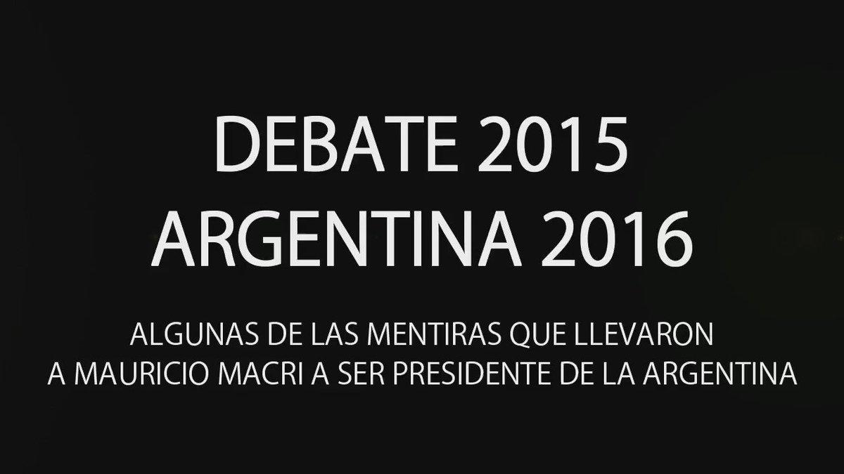 1:36                     Cristina Kirchner Verified account@CFKArgentina         Se ha consumado una gran estafa electoral