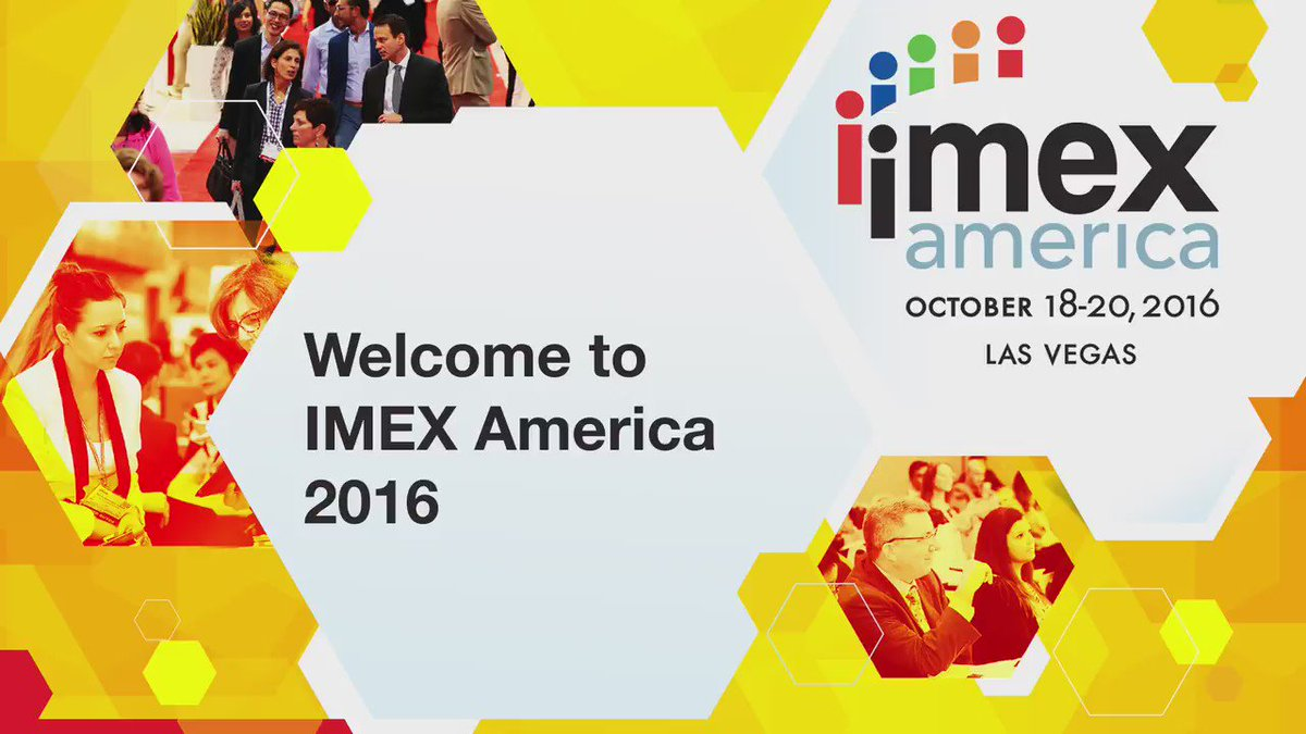 We prepared this short video to guide to help you make the most of your time at #IMEX16. Enjoy! https://t.co/qIUVHN7RKi