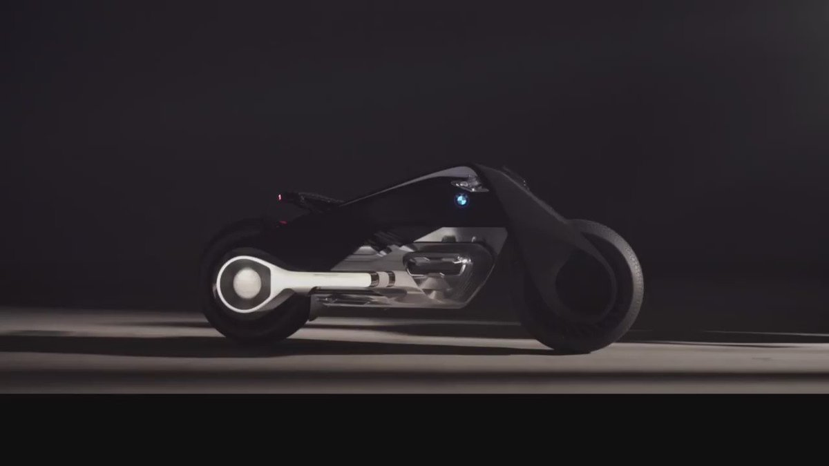 BMW hopes motorbikers will one day ditch helmets