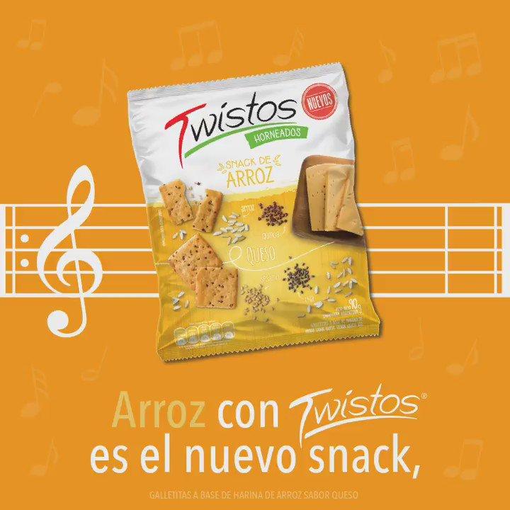 Nuevos Twistos snack de arroz, sabor original y sabor queso. Probalos y contanos cuál te gusta más. #ArrozConTwistos #TeCantaLaPosta https://t.co/veMzDiB0Gr