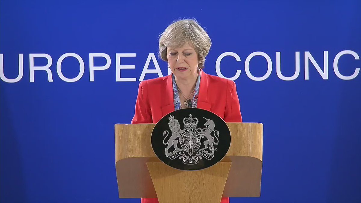 RT @Number10gov: PM: I want a mature, co-operative relationship with our European partners. #EUCO https://t.co/6jIvdQ5beb