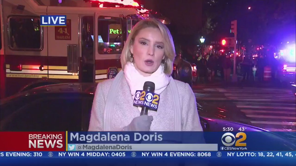 update: 1 killed, at least 4 hurt in massive fire on the Upper East Side. CBS2's @MagdalenaDoris reports.