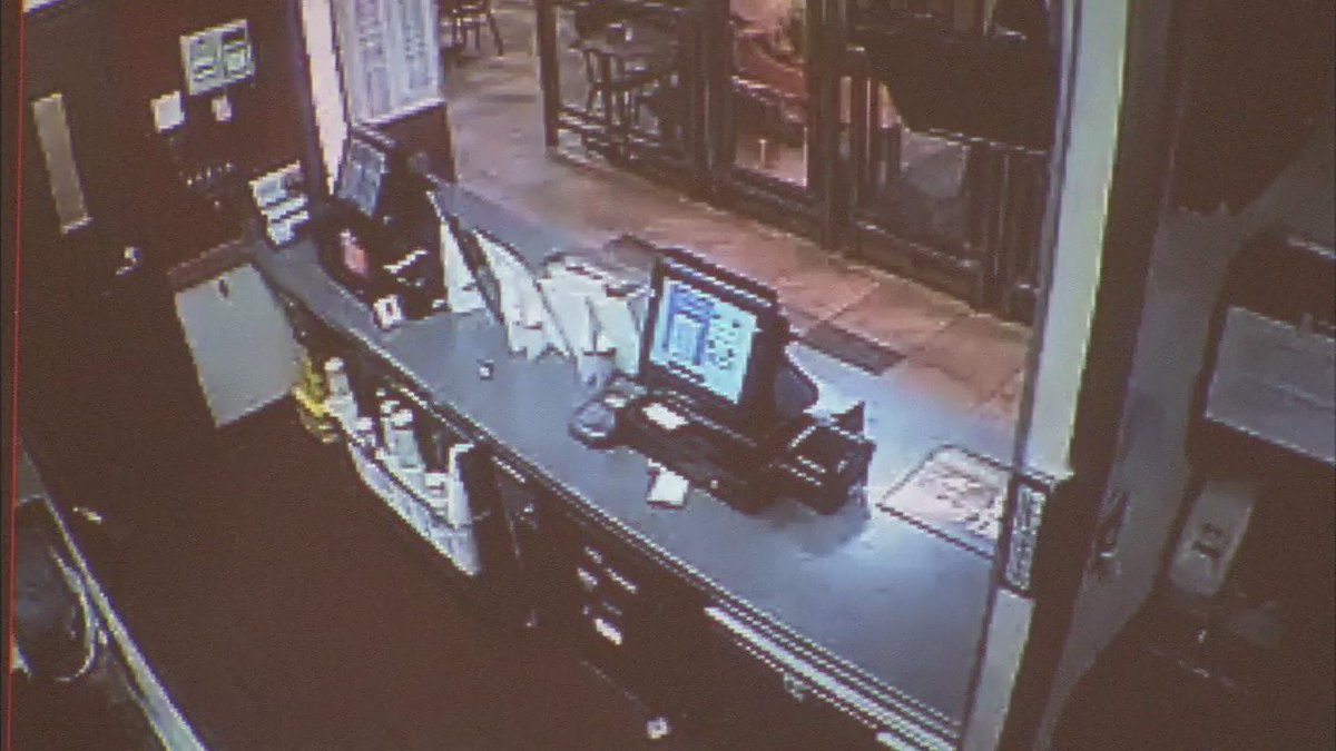 Surveillance video shows moments masked suspect kills El Monte Jack in the Box employee