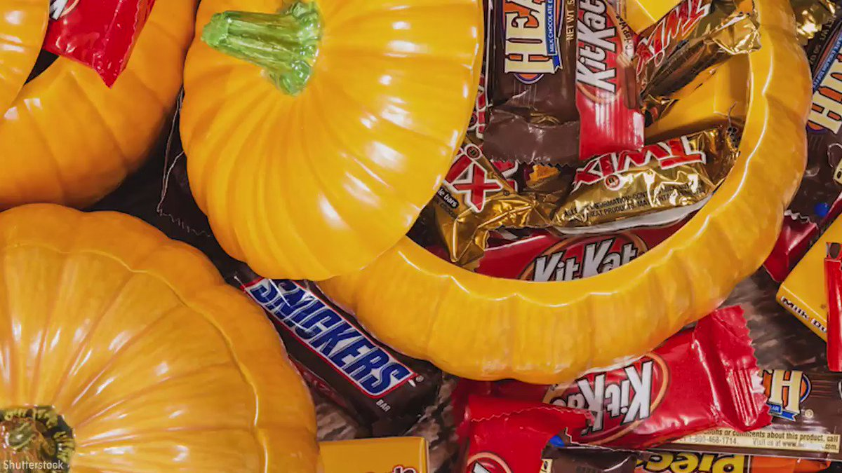 Happy NationalChocolateDay! Here's the most popular Halloween candy by state