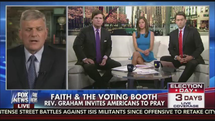 .@Franklin_Graham explains why he thinks it's important to vote & bring change https://t.co/oWCPW7HUQQ