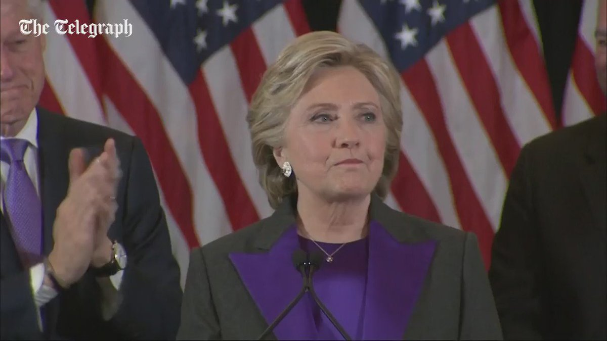 """In Pakistan the loser wld have claimed Rigging """"@Telegraph: USelec2016: Hillary's concession speech #TrumpPresident https://t.co/toBfIT0JRP"""