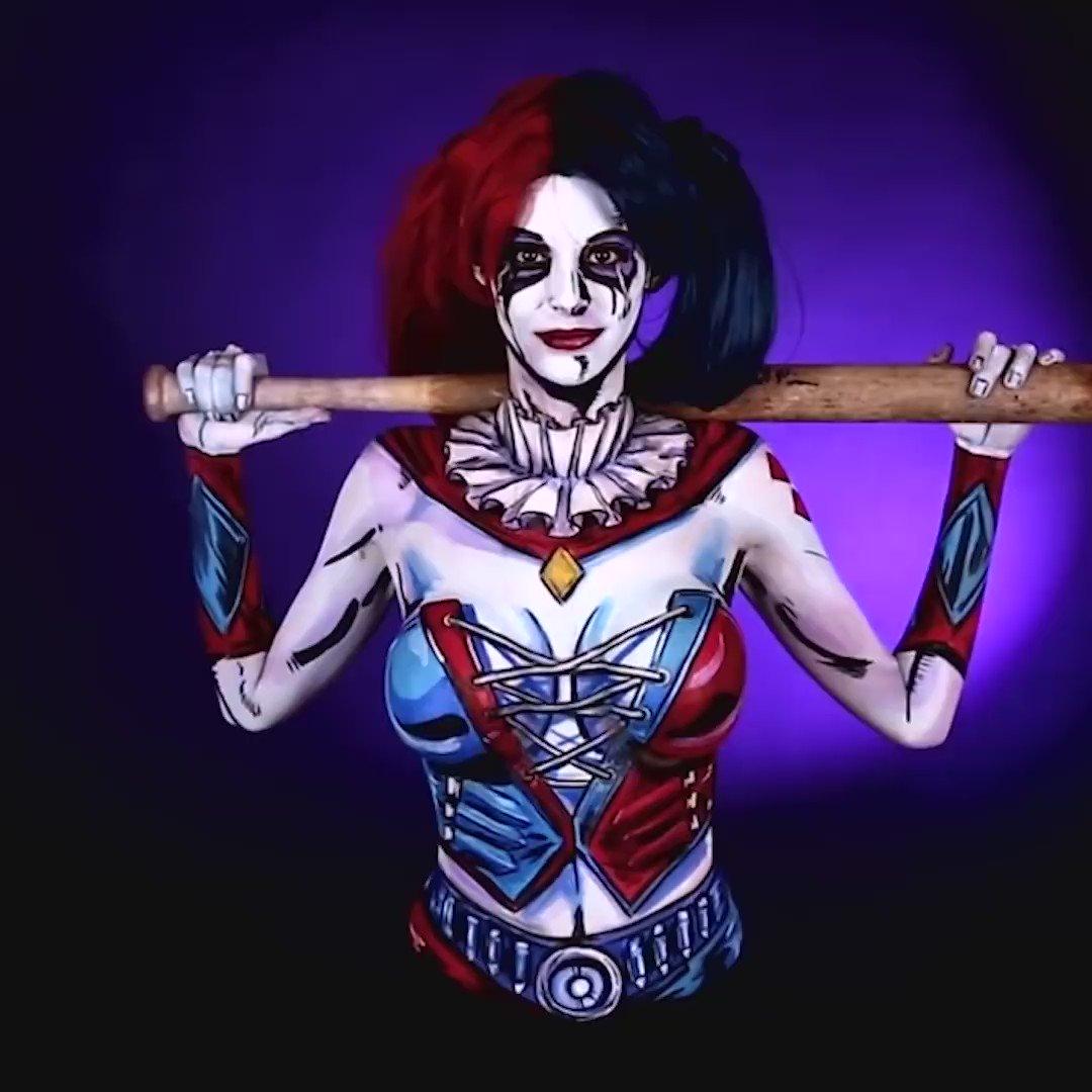 Ign Harley Quinn Body Paint