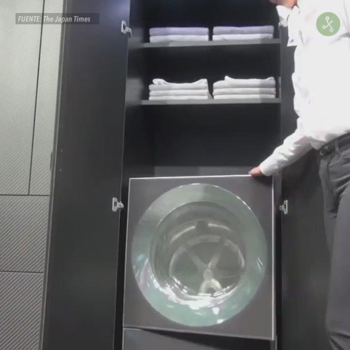 Adesivo De Dente ~  u00bfEs esta la innovación que estábamos esperando? Un robot que plancha, lava y dobla la ropa