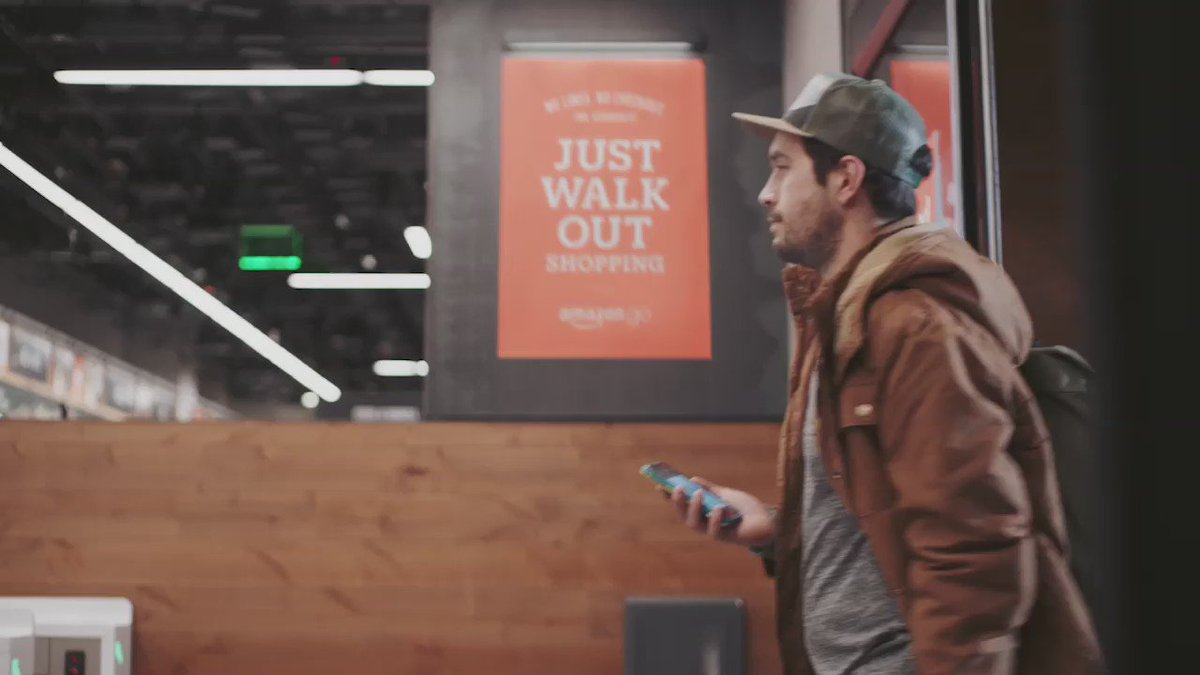 Introducing #AmazonGo, a new kind of store with no lines and no checkout. https://t.co/WMii0bWevi https://t.co/OmZdzobA5F