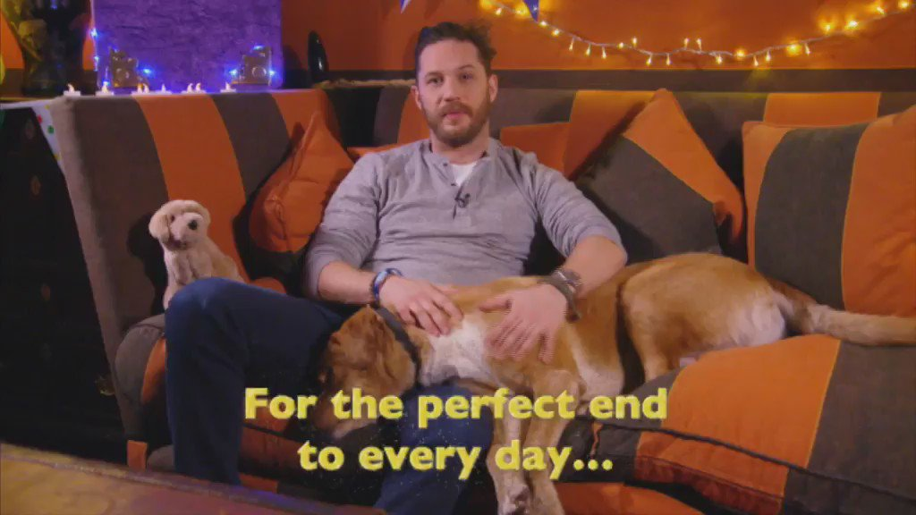 Tom Hardy reads the Bedtime Story.   That's New Year's Eve sorted. https://t.co/OLsMuM5LIx