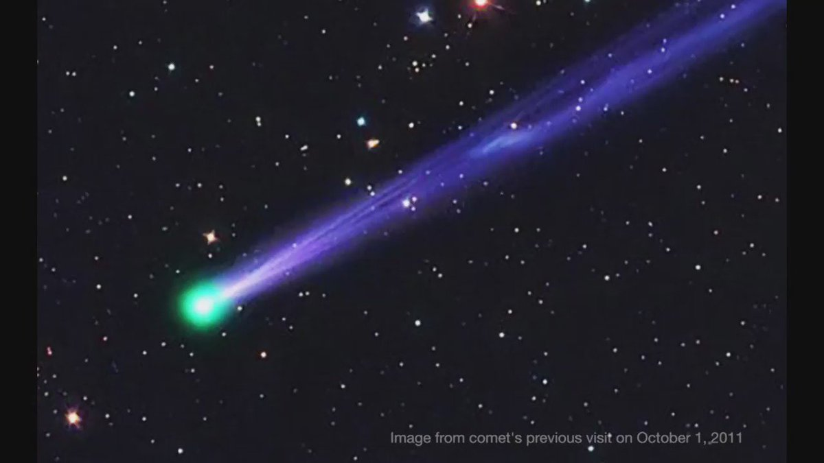 Say farewell to 2016 in cosmic style by looking up to see the #NewYearsEve #comet on December 31 🎉