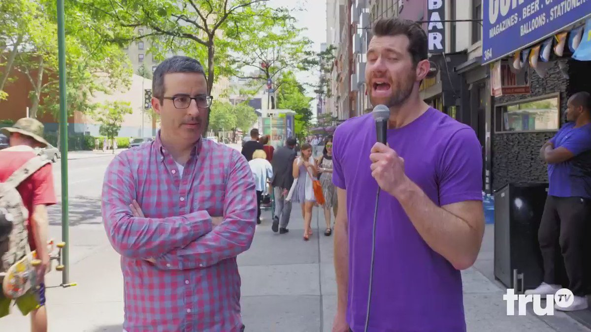 DO GAY PEOPLE CARE ABOUT JOHN OLIVER? I hit the street with @iamJohnOliver to find out.
