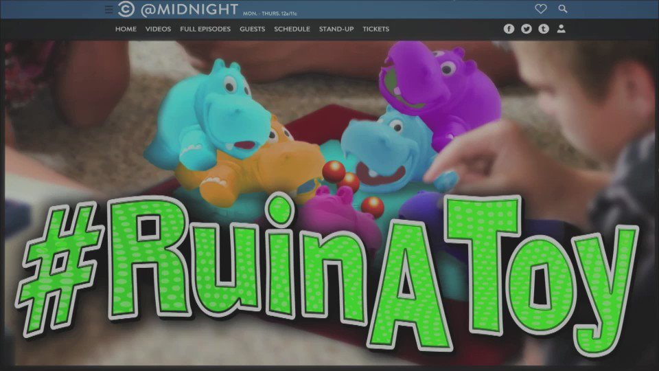 WHAT did your toy just say? Tonight we're playing #RuinAToy. Check out...