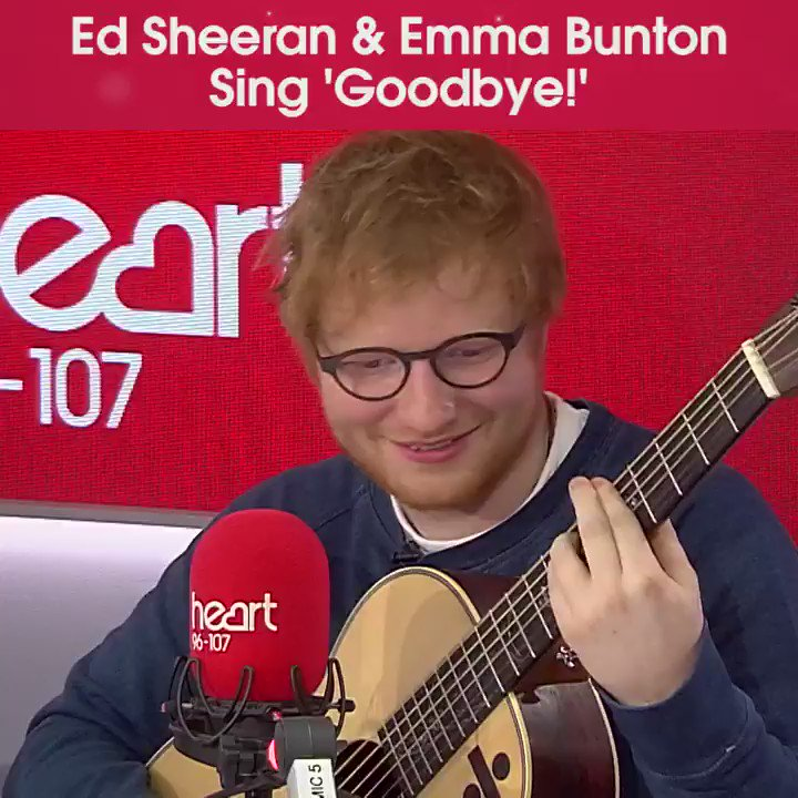 It was just meant to be! Could @EdSheeran be the next #GingerSpice?